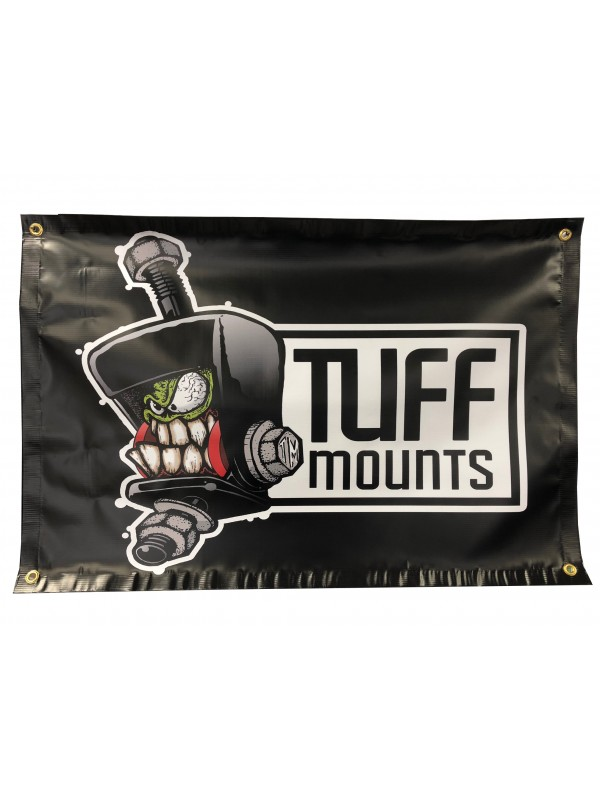 MR TUFF MOUNTS SHED BANNER