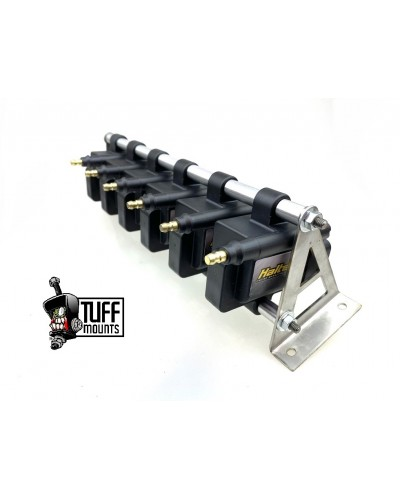 TUFF MOUNTS COIL RELOCATION KIT to suit 6 x  IGN1a SMART COILS  *** 6 CYLINDER***