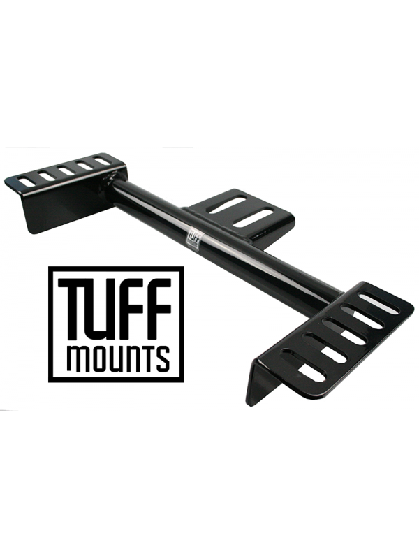 TUFF MOUNTS TUBULAR GEARBOX CROSSMEMBER to suit BARRA CONVERSION in VL-VS COMMODORE's WITH T400