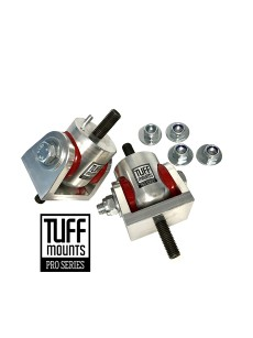 TUFF MOUNTS (Pair) Billet to suit VT-VZ COMMODORES PONTIAC GTO, LS ENGINES