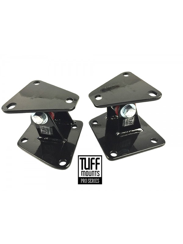 TUFF MOUNTS (Pair)  to suit 1958-1964 CHEVROLET FULL SIZE CARS Small & Big Block Chev