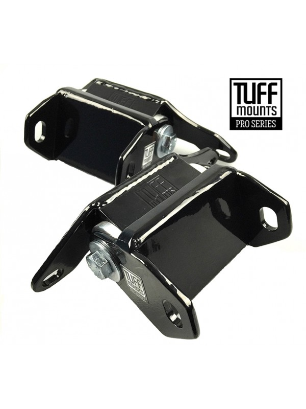 TUFF MOUNTS (Pair) to suit FORD CLEVELAND-WINDSOR V8's  INTO XR -XF FALCONS & SOME MUSTANGS