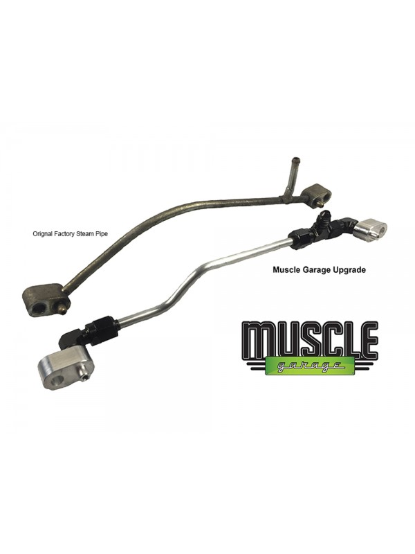 MUSCLE GARAGE LS ENGINE COOLANT CROSSOVER / STEAM PIPE