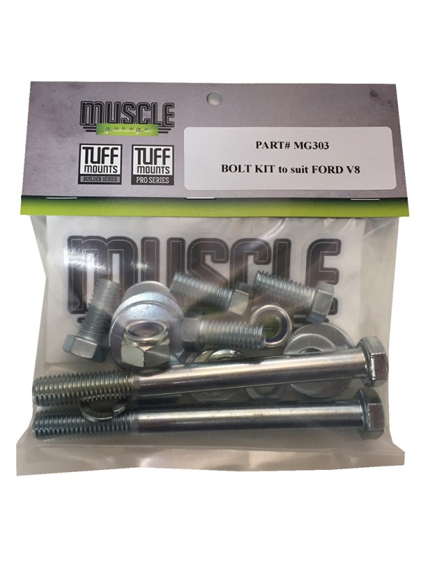 TUFF MOUNTS BOLT KIT to suit FORD V8 ENGINES