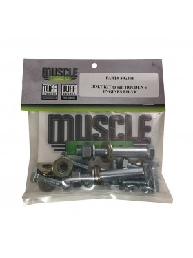 TUFF MOUNT BOLT KIT to suit HOLDEN 6Cyl ENGINE'S