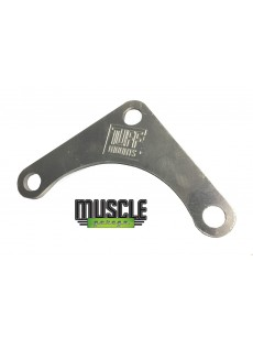 MUSCLE GARAGE LS FUEL PRESSURE REG BRACKET Raw Alloy