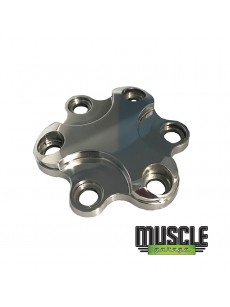 MUSCLE GARAGE, Billet Blower Pulley Cap Polished