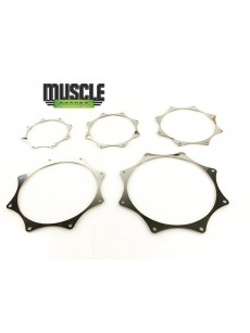 """TURBO TRIM RINGS to suit 2.5"""" Pipe"""