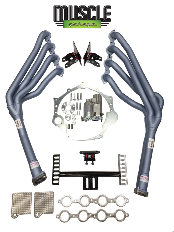 TUFF MOUNTS, COMMODORE LS CONVERSION KIT LS1, LS2, LS3, LSA