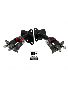 TUFF MOUNTS (pair), Engine Mounts to suit Holden 5 litre V8 with VN-VS Commodore V6 K-frame