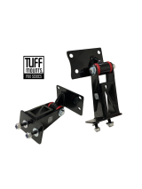 TUFF MOUNTS (pair), Engine Mounts to suit FORD BARRA into VN-VS Commodore V6 K-frame