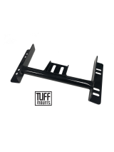 TUFF MOUNTS TUBULAR GEARBOX CROSSMEMBER to suit BA-BF-FG FALCON WITH T400