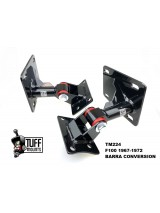 TUFF MOUNTS (PAIR) TO SUIT F100 1967-1972 BARRA CONVERSION